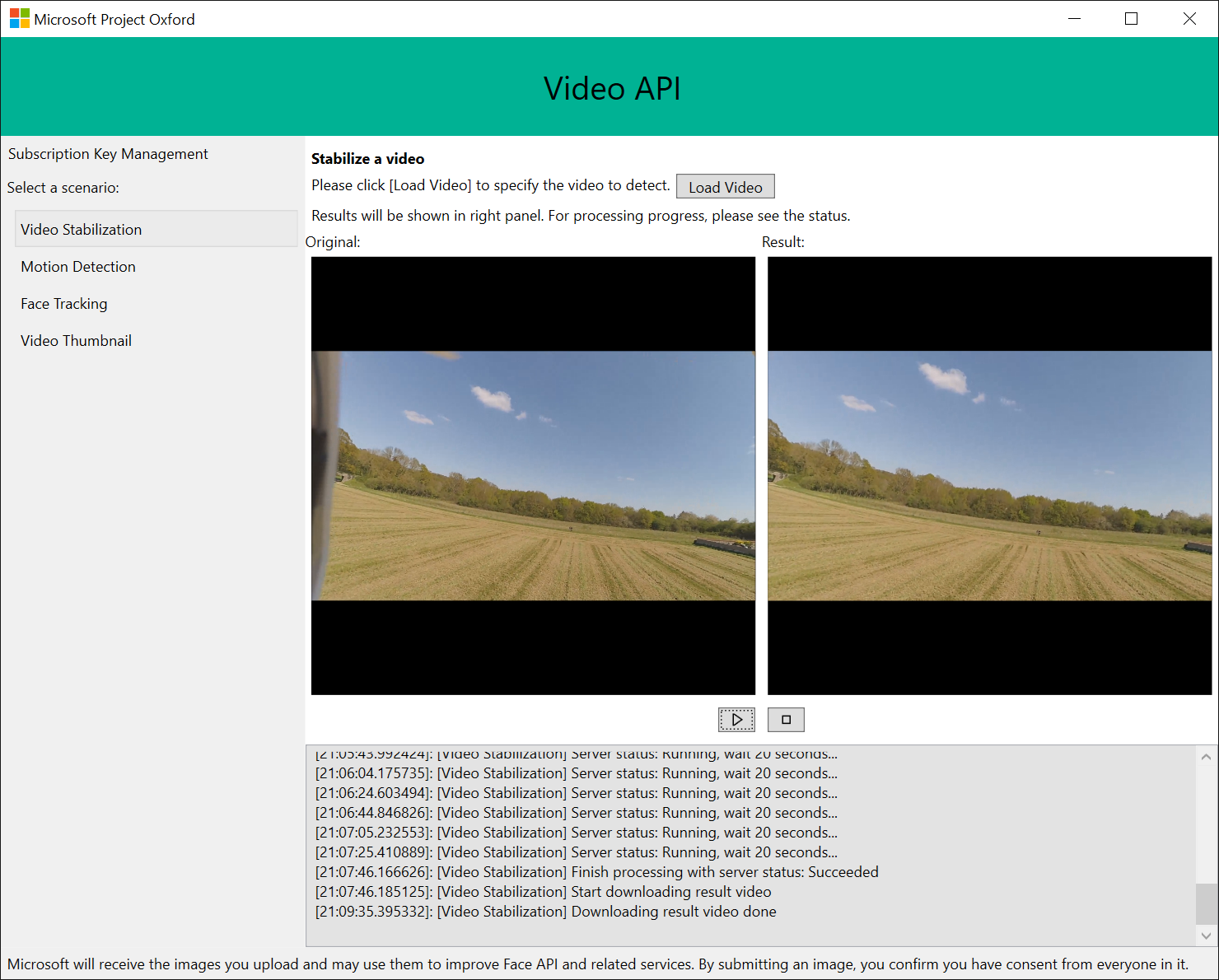 Stabilizing your drone's or any shaky video with Microsoft