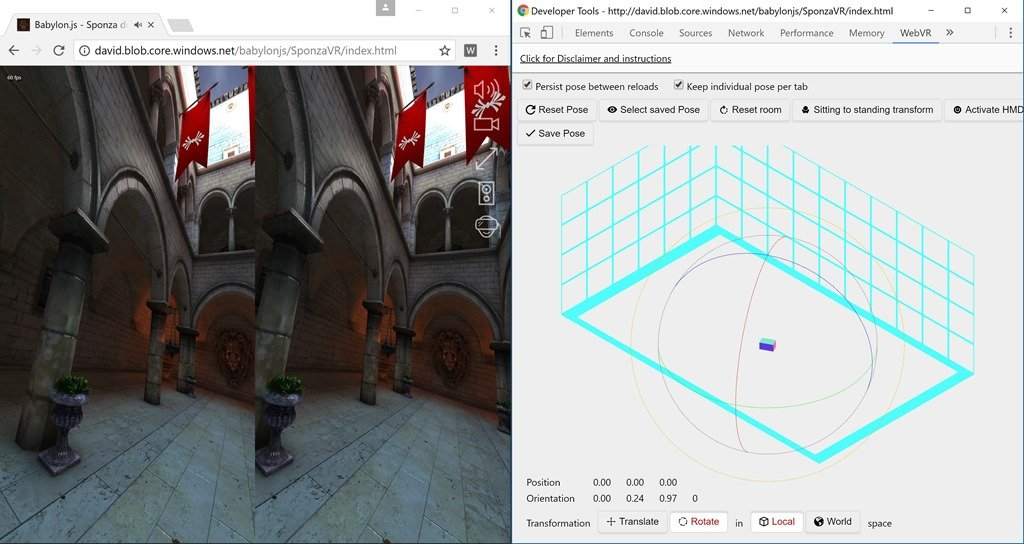 From zero to hero, creating WebVR experiences with Babylon