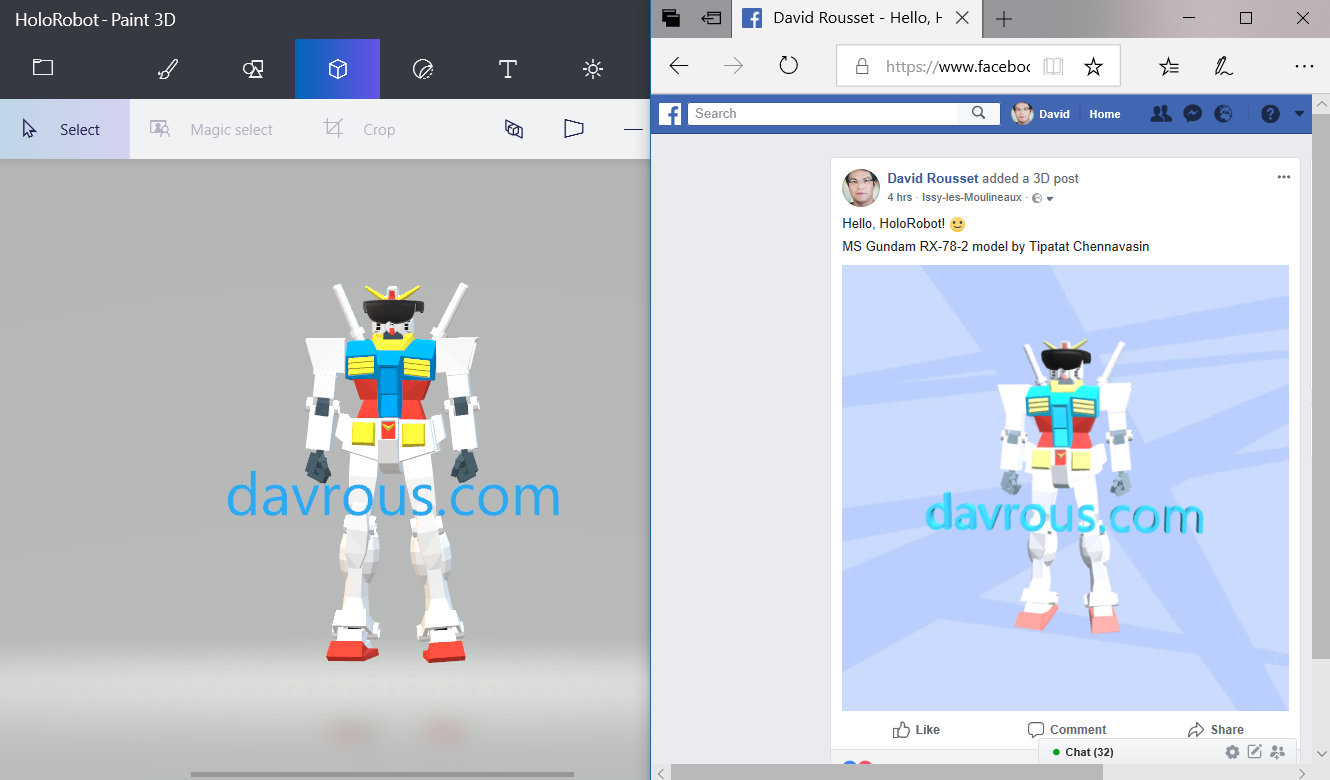 Tutorial: how to create 3D posts on Facebook for absolute beginners